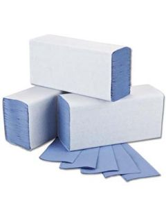 Blue Interfold Hand Towels Box of 5000