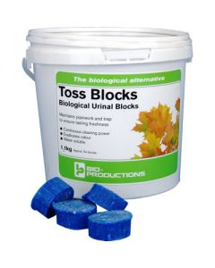 Biological Toss Blocks - Urinal 1.1Kg