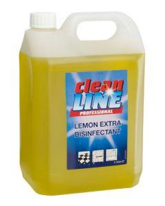 Cleanline Lemon Disinfectant QAP50 Extra 5L