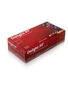 AURELIA Delight Clear Powder Free Vinyl Gloves 10X100