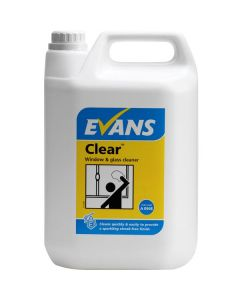 Evans - Clear Window, Glass & S/Steel Cleaner 5L