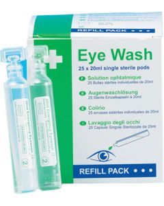 Small Eyewash Pods (Pack of 25)