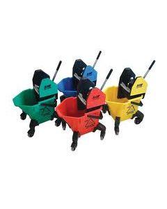Mop Bucket - Wringer 20 Litre Trad 4 - Yellow