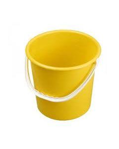 Yellow Hygiene Bucket 9L