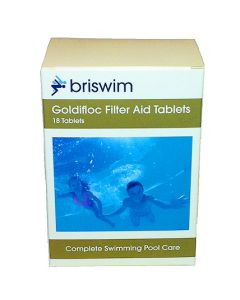 Goldifloc Filter Aid Clarifier Tablets (18 Tablets)
