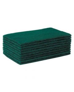 Green Scourers (Pack of 10)