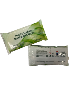 Ecotech Hand & Surface disinfectant wipes (Box of 16 x 40 wipes)