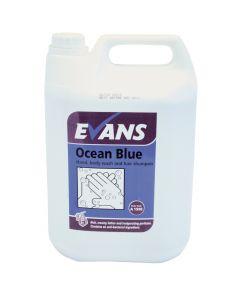 Evans Ocean Blue Hair & Body Wash 5L
