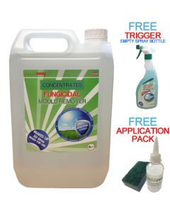 5L Mould Away Concentrated Fungicidal Mould Remover