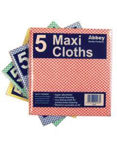 Maxi Cloth 38x40cm Pack of 5