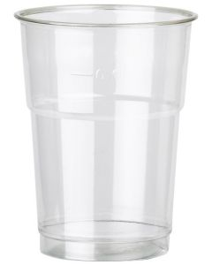 Plastic Cup 1/2 Pint Box of 1000