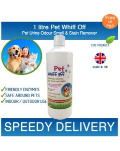 1L Pet Whiff Off – Pet Urine & Odour Remover