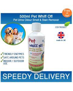 500ml Pet Whiff Off – Pet Urine & Odour Remover