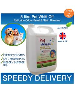 5L Pet Whiff Off – Pet Urine & Odour Remover