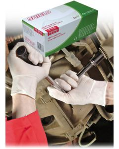 Disposable Latex Gloves Box of 100