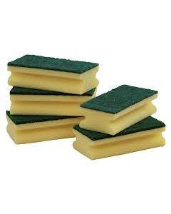Sponge Scourers (Pack of 10)