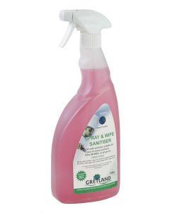 Spray & Wipe 6x750ml