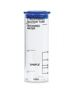 Palintest Dilution Tube, x2, x3, x4, x5, x10, plastic