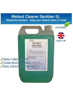 Wetsuit / Drysuit Cleaner Sanitiser 5L - Eucalyptus Neoprene Wash