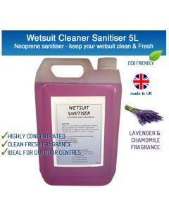 Wetsuit / Drysuit Cleaner Sanitiser Lavender & Chamomile 5L