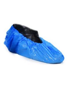 Overshoe Embossed Blue Pack of 100