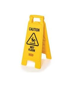 """Yellow """"Caution Wet Floor """"A Sign"""