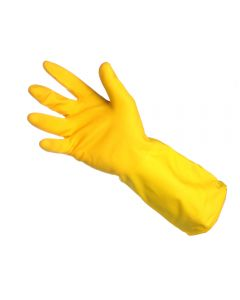 Shield Household rubber gloves yellow - 12 Pack