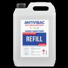 ANTIVIBAC Antibacterial Alcohol Sanitising Hand Gel 5L